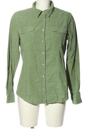 Emily van den Bergh Hemd-Bluse khaki Casual-Look