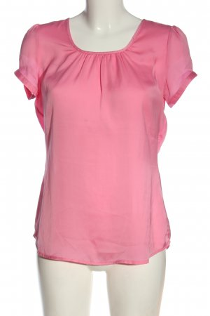 Emily van den Bergh Kurzarm-Bluse pink Casual-Look