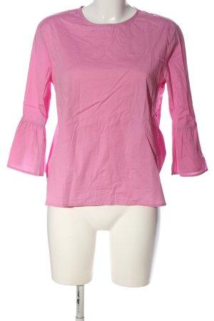 Emily van den Bergh Langarm-Bluse pink Casual-Look