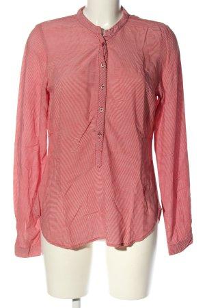 Emily van den Bergh Langarm-Bluse pink meliert Casual-Look