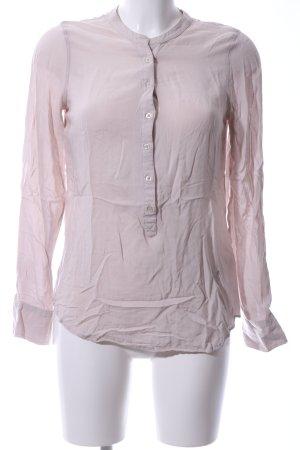 Emily van den Bergh Long-Bluse pink Business-Look