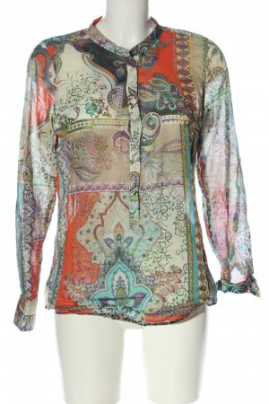 Emily van den Bergh Schlupf-Bluse abstraktes Muster Casual-Look