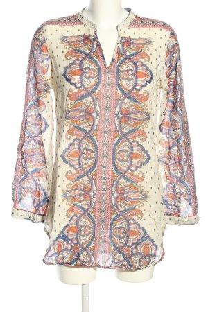 Emily van den Bergh Tunic Blouse allover print casual look