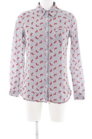Emily van der Bergh Shirt met lange mouwen volledige print casual uitstraling