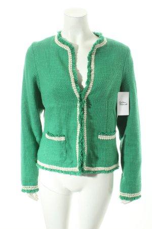 Emily van der Bergh Folkloristische jas groen country stijl