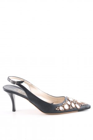 Emma Hope Slingback Pumps black elegant