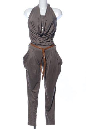 Jumpsuit hellgrau Casual-Look