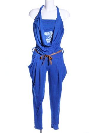 Jumpsuit blau Party-Look