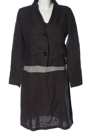 Emma Woven Twin Set black casual look