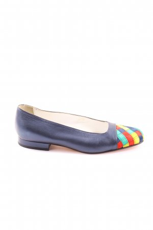 Emmedieci Foldable Ballet Flats graphic pattern casual look