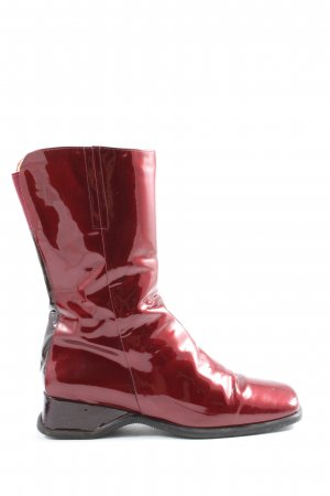 Emmedieci Wide Calf Boots red casual look