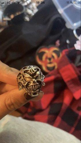 Emo Ring totenkopf
