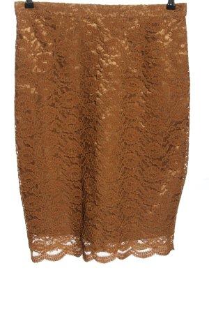 emotions Lace Skirt brown elegant