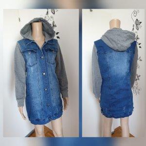 by EMP Jeansowa kurtka niebieski Bawełna