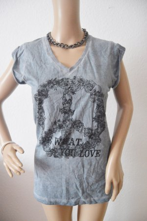Batik Shirt light grey-grey