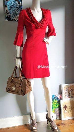 KAREN MILLEN Empire Dress red