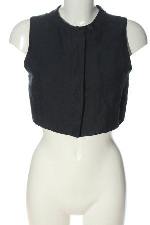 Emporio Armani Waistcoat black flecked casual look