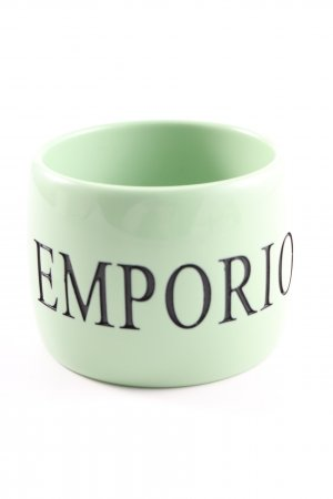 Emporio Armani Bangle green-black printed lettering casual look