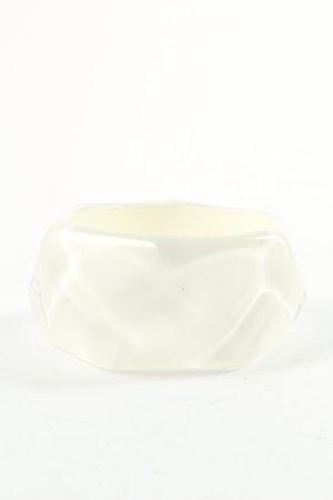 Emporio Armani Bracelet de bras blanc style décontracté