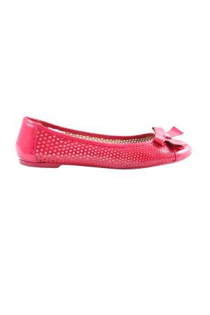 Emporio Armani Ballerinas with Toecap red casual look