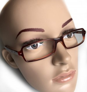 Emporio Armani Okulary brązowy Włókno octanowe