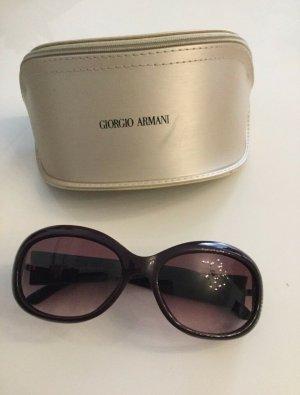 Emporio Armani Gafas rojo zarzamora-violeta amarronado