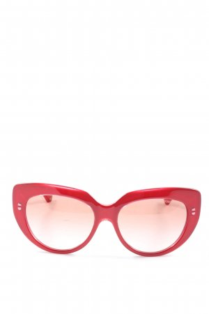Emporio Armani Butterfly bril rood casual uitstraling