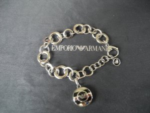 Armani Braccialetto in argento argento Acciaio pregiato