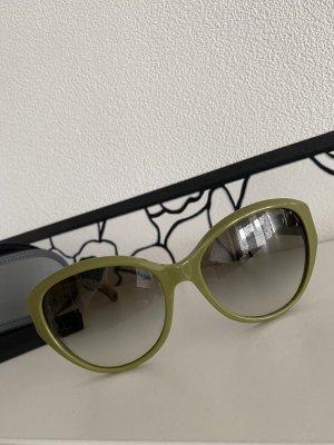 Emporio Armani Okulary motylki oliwkowy