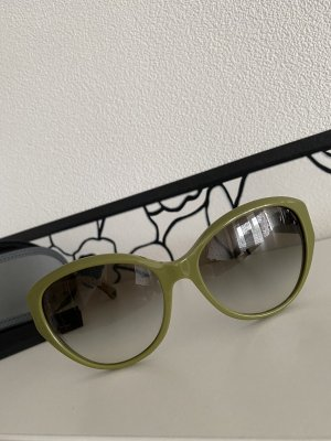 Emporio Armani Butterfly Glasses olive green