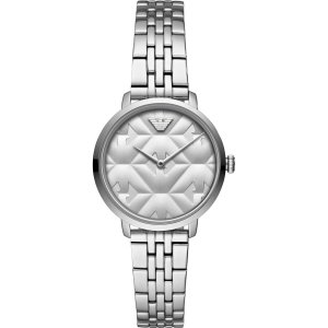 Emporio Armani Reloj con pulsera metálica color plata