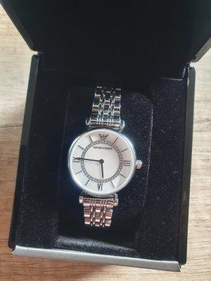 Emporio Armani Zegarek automatyczny srebrny Metal