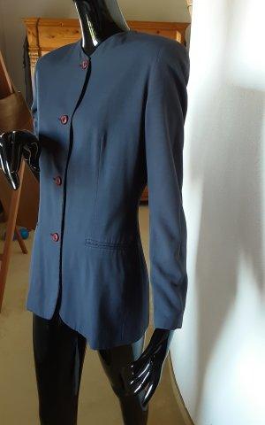 Emporio Armani, dunkelblauer langer Blazer, Gr. 36