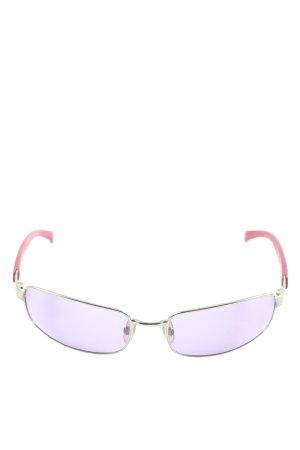 Emporio Armani Lunettes retro violet style décontracté