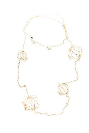 Emporio Armani Halskette goldfarben Casual-Look