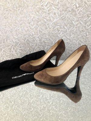 Emporio Armani High heels braun 36