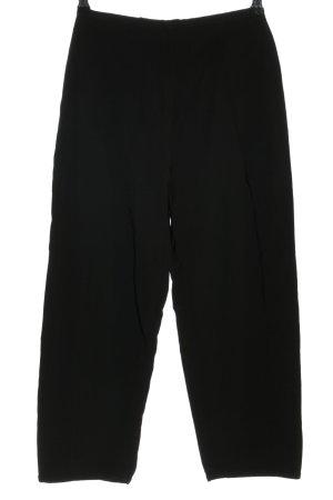 Emporio Armani High-Waist Hose schwarz Casual-Look