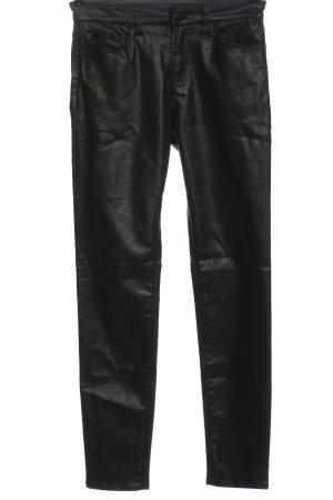 Emporio Armani High Waist Trousers black casual look