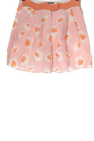 Emporio Armani High-Waist-Shorts allover print casual look