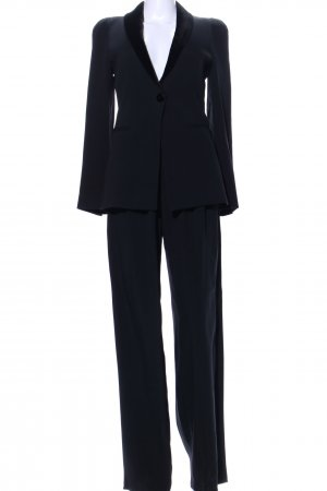 Emporio Armani Trouser Suit black business style