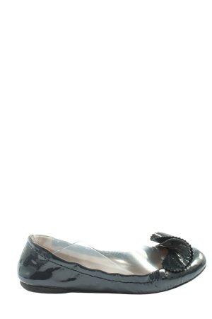 Emporio Armani Classic Ballet Flats black casual look
