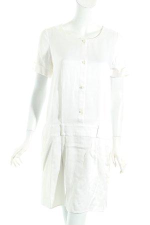 Emporio Armani Kleid weiß schlichter Stil