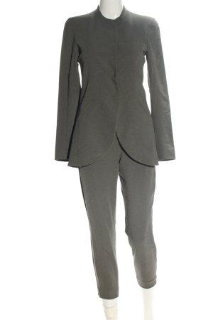 Emporio Armani Tailleur gris clair style d'affaires