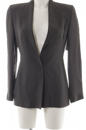 Emporio Armani Long-Blazer grau Business-Look