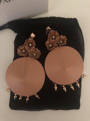Emporio Armani Orecchino a pendente color oro rosa