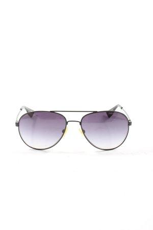 Emporio Armani Aviator Glasses black casual look