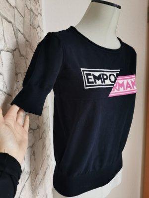 Emporio Armani Knitted Jumper dark blue