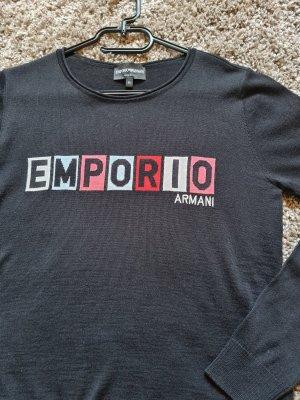 Emporio Armani Pullover, wie Neu, schwarz