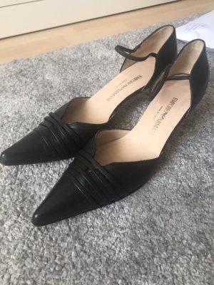 Emporio Armani Zapatos de punta multicolor Cuero