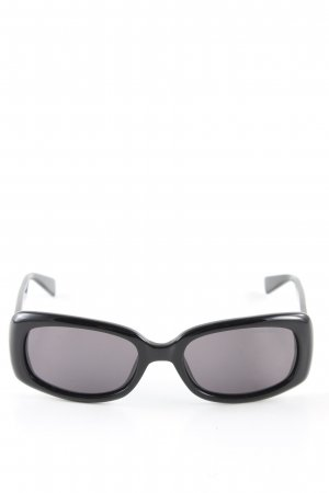 Emporio Armani Occhiale stile retro nero stile professionale
